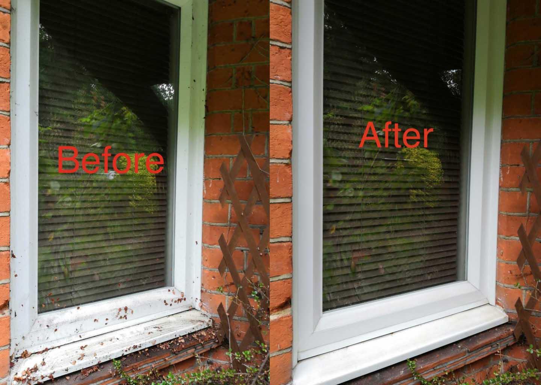 window cleaner woking